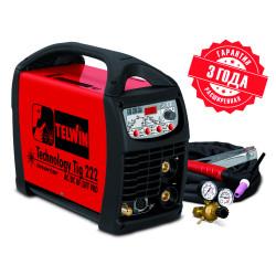 Сварочный аппарат TELWIN Technology Tig 222 AC/DC-HF/LIFT 230V+ACC / 852054